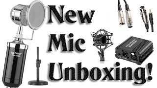 Unboxing & Testing My New Mic!