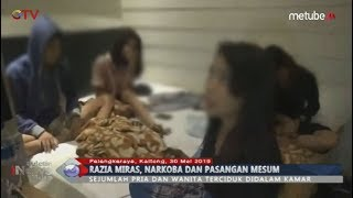Pesta Narkoba & Seks, 15 Remaja Terjaring Razia Polisi Palangkaraya - BIM 30/05