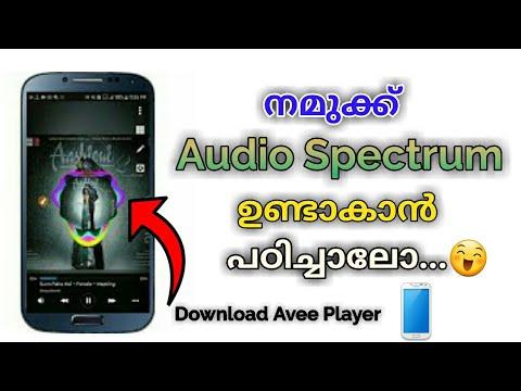 How to Make a Audio Spectrum | Avee Player Malayalam Tutorial | Malayalam Tech