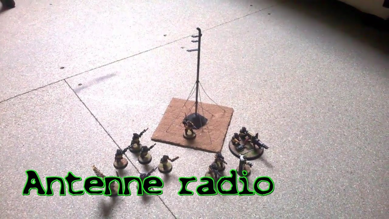 W40k zone tuto antenne radio youtube for Antenne fm maison