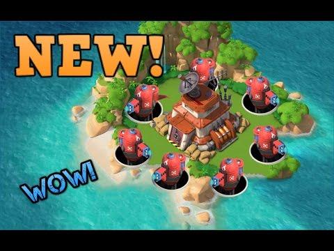 BOOM BEACH UPDATE - Blackguard Base Builder!