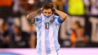 Lionel Messi ●  The sadness of 12 years of Career