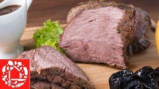 Невероятно нежное запеченное мясо в духовке. Покорит всех своим Вкусом!