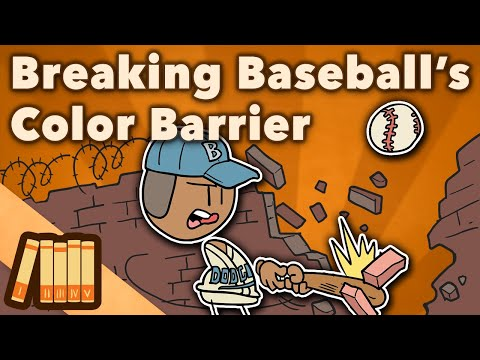 Negro League Baseball - Breaking Baseball's Color Barrier - Extra History