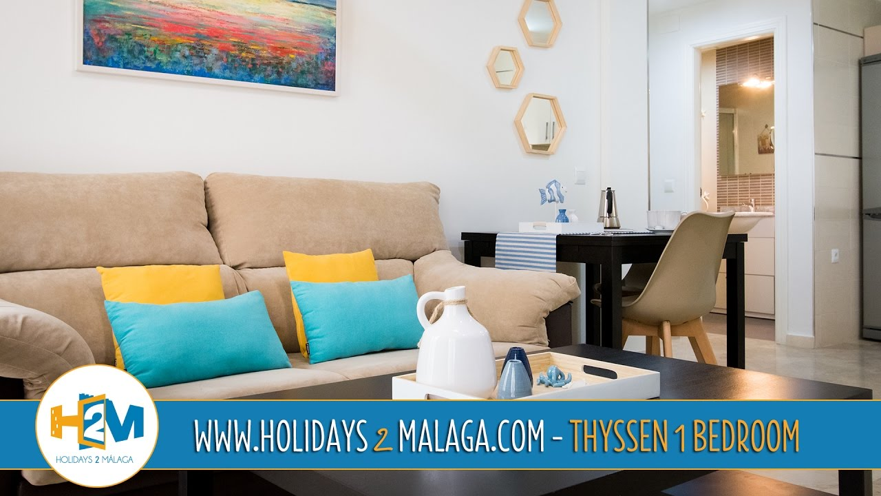 Holidays 2 Malaga - Apartment for rent Thyssen 1 Bedroom ...