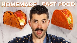 Homemade Vs. Fast Food: Doritos Locos Tacos  Tasty