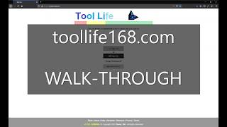 Tool Life - Machining System by Theory 168 - WALK-THROUGH