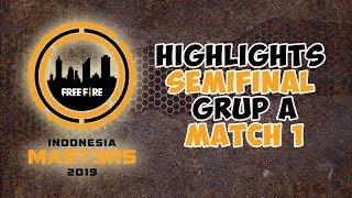 "HIGHLIGHTS INDONESIAN MASTER GRUP A MATCH 1 | ""LEGION WIN"""