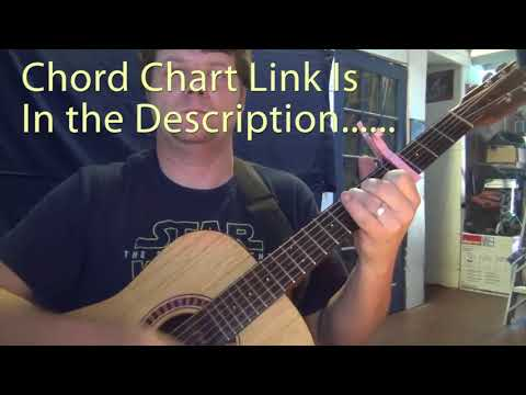 Jolene Dolly Parton Guitar Chord Chart Capo 4th Youtube