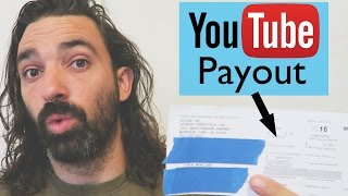 How much money did I make from YouTube this year || my 1099 from Google Adsense for 2016
