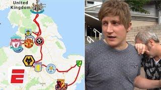 FAILED! Visiting every Premier League stadium in 24 hours challenge | Premier League