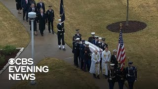 Final farewell to former President George H.W. Bush