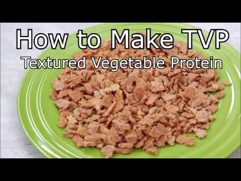 TVP | Textured Vegetable Protein | How to Make TVP From Scratch