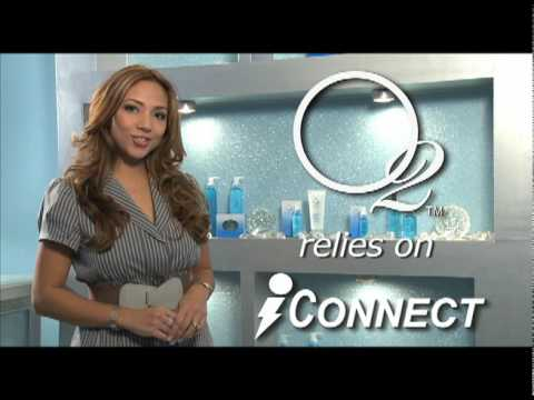 Fukuda and Shelly Garcia of Oxygene Skin Care rely on iConnect