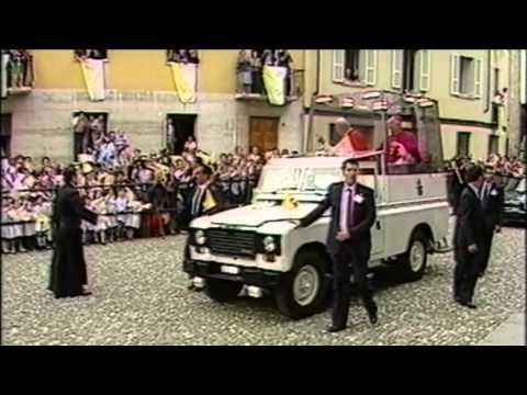 Giovanni Paolo II In visita Pastorale a Fidenza 1988.mov