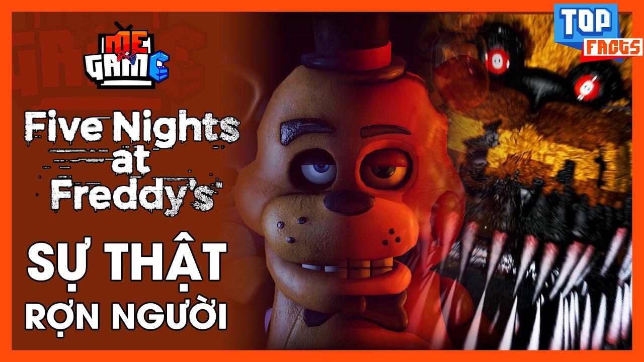 Sự Thật Rợn Người trong Five Night At Freddy's | CÁ THÁNG TƯ VUI VẺ – meGAME