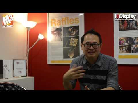 Raffles Design Institute & the i3Display