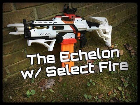 Nerf Mod: The Echelon (3 Round Burst + On-board Computer)