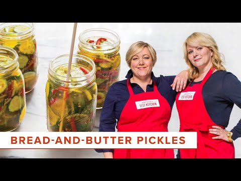DIY Bread-and-Butter Pickles Recipe