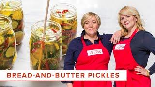 DIY BreadandButter Pickles Recipe