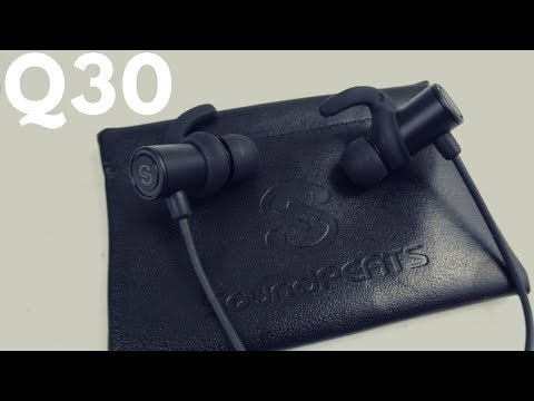SoundPEATS Q30 Magnetic Headphones Review - Sweatproof Earbuds