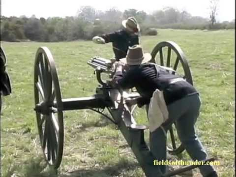 Indian War Artillery Gun Crews