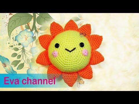 Amigurumi Sunshine - Jayda's Signature Crochet Pattern - YouTube | 360x480