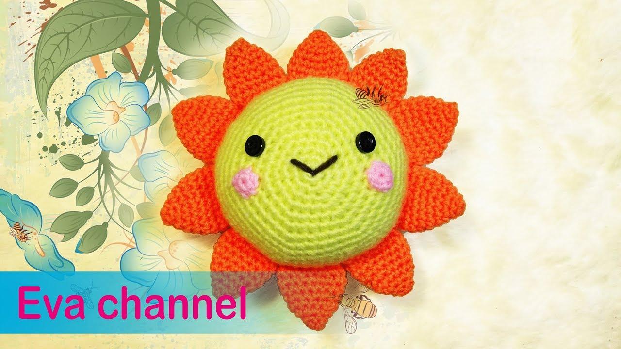 Kawaii Sun Amigurumi Sun Baby Gift Amigurumi Mobile Crochet ... | 720x1280