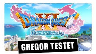 Gregor testet Dragon Quest XI auf PS4 (Review / Test)
