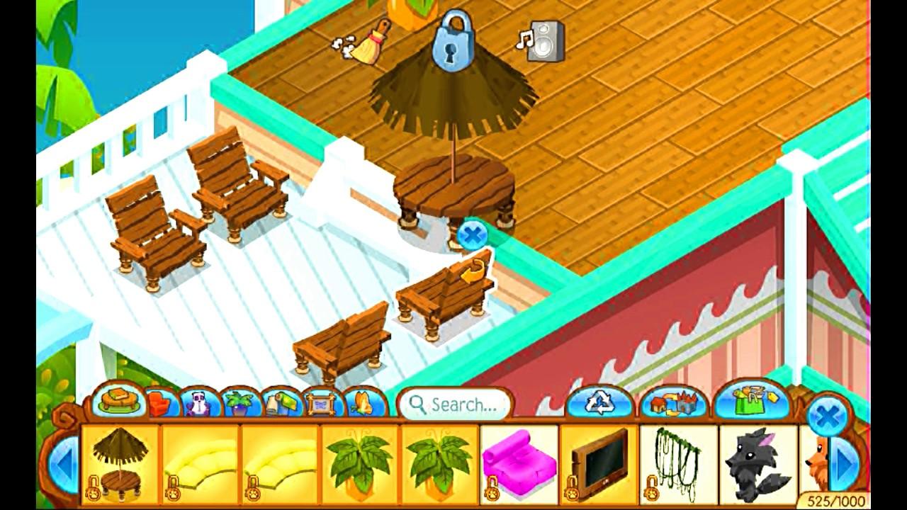 animal jam beach house decorating youtube