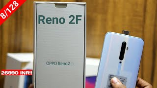 Oppo Reno 2F Unboxing & First Look- Quad Camera,8/128 GB