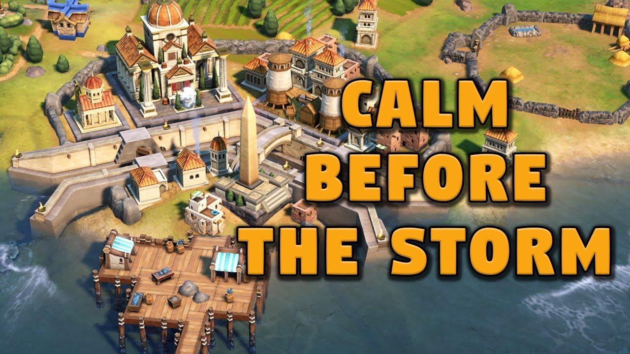 Calm Before the Storm? - Civilization 6 Gathering Storm Deity Part 4