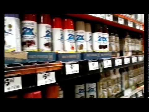 E13 Shopping at Home Depot and Walmart for Components and Toilet