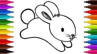 Drawing drawing for kids | how to draw rabbit for kids step by step