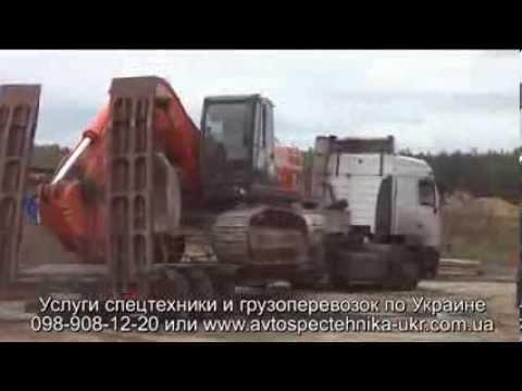 Негабаритные перевозки грузов группой компаний Эверест