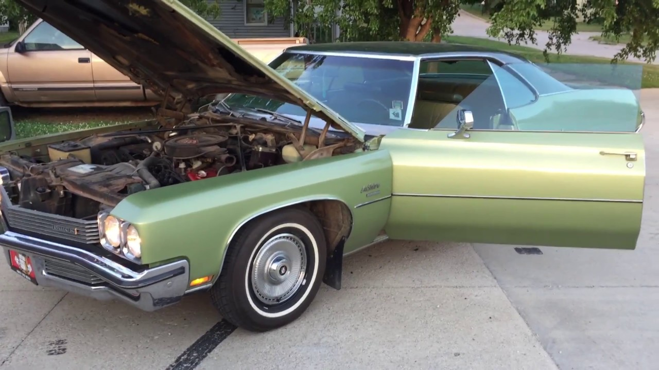 UNRESTORED CARS - 1972 Buick LeSabre Custom for sale - Iowa Used ...