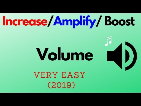How to Amplify sound | Increase/Boost the Volume of your Speaker
