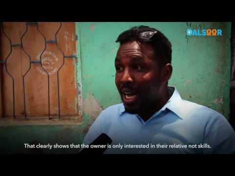Shaqa la'aanta dhallinyarada Soomaaliyeed - Youth unemployment