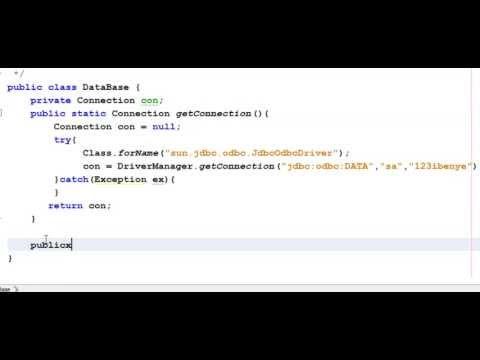 Java Jdbc Tutorial 5- Insert and ResultSet Utility Methods