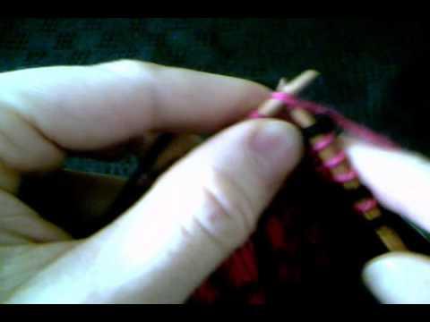 comment tricoter avec deux laines