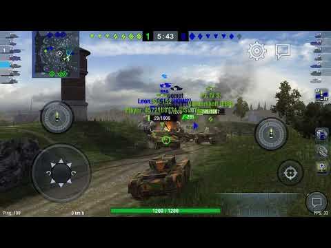 World Of Tanks Blitz - Normandy (Encounter Battle) Churchill VII (D-Day Anniversary Video) |