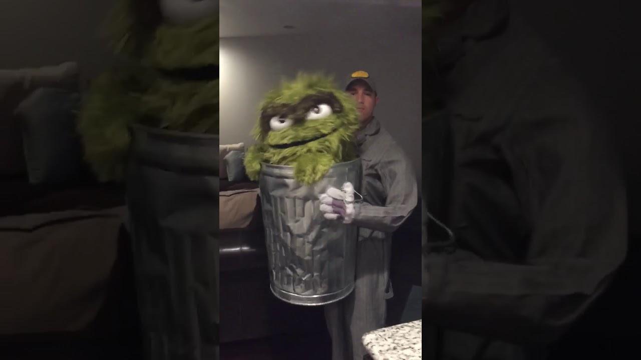 Oscar The Grouch Costume Youtube