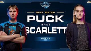 Scarlett vs puCK ZvP - Group D Winner - WCS Challenger NA Season 2