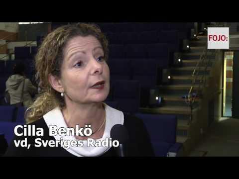 Cilla Benkö, vd Sveriges Radio