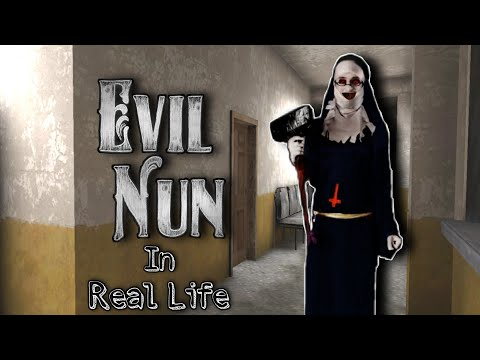 Evil Nun In Real Life. (Horror In The School Game)