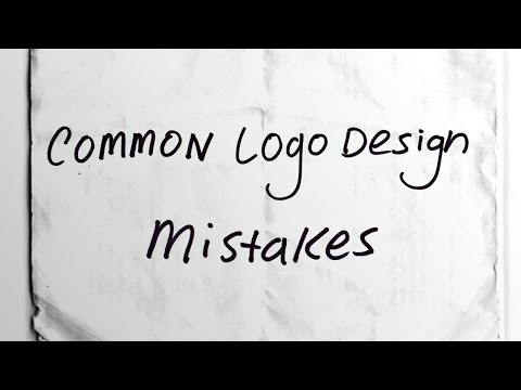 Top 5 Most Common Logo Design Mistakes!