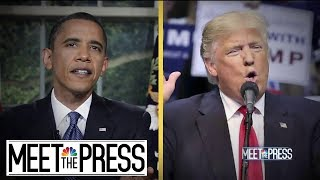 With Each New President, America Chooses An Opposite | Meet The Press | NBC News