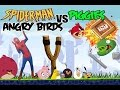 Real Life Spiderman In Angrybird World video