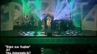 Ministerio 4x7 en vivo Como lluvia fresca- Con Maria- Por amor-Sigue