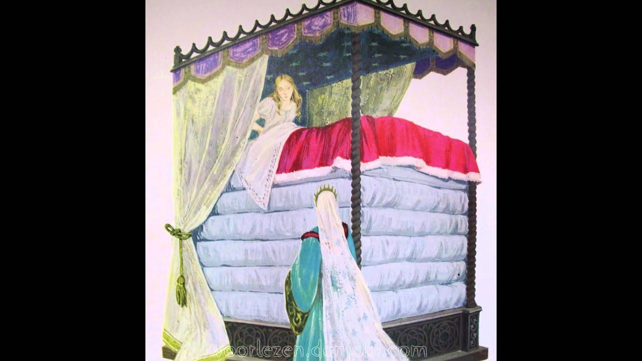 de prinses op de erwt - sprookje van h.c. andersen met plaatjes